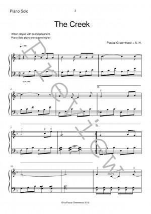 The Creek Piano Solo + Accompaniment Preview-003