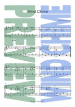 Piano Sheet Music - Wind Chime - Pascal Greenwood